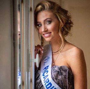 Tara de Mets - Miss Picardie 2020