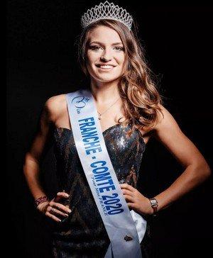 Coralie Gandelin - Miss Franche Comté 2020