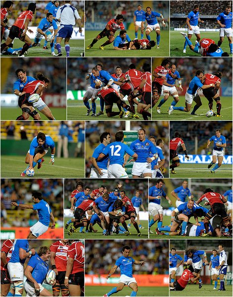 Italia vs Japone [13 août 2011 ~ Test Match]