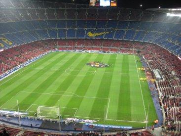 Le stade de Barcelone