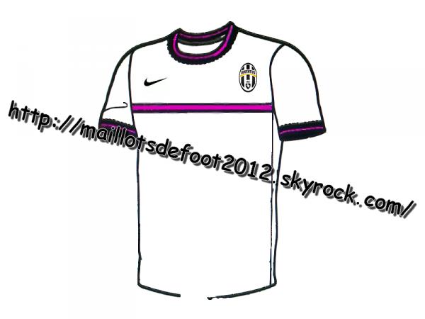Maillots Juventus Exterieur 2011-2012