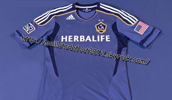 Maillots LA Galaxy Exterieur 2011-2012