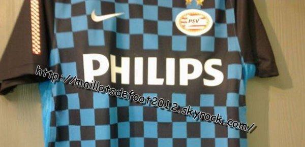 Maillots PSV Eindhoven Extérieur 2012