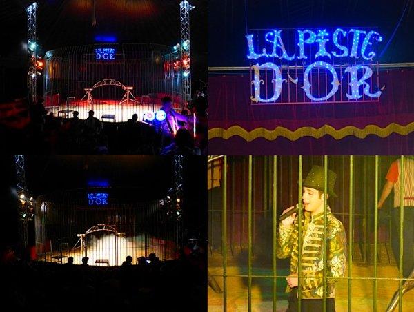 """L'INCONTOURNABLE CIRCOPHILE DU SUD ™ EST TRÈS FIER DE VOUS PRÉSENTER POUR LA PREMIÈRE FOIS SUR LE BLOG, LA PISTE D'OR ! FALCK PRODUCTION ! UN NOUVEAU SPECTACLE 2015 """" DYNAMIQUE """" À COUPER LE SOUFFLE ! SUPERBE CRÉATION À DÉCOUVRIR ABSOLUMENT !"""