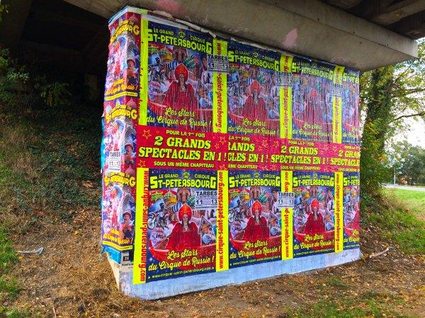Le grand cirque de St Petersbourg arrive à Tarbes ! Session affichage 2016 - CLIQUEZ SUR LES IMAGES POUR LES AGRANDIR !