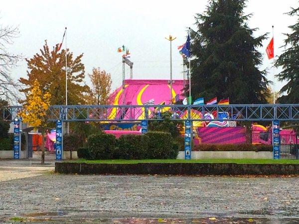 LE GRAND CIRQUE DE ST PETERSBOURG, PRESTIGE DU CIRQUE DE RUSSIE EST BIEN ARRIVE AUJOURD'HUI AU PARC EXPO DE TARBES !