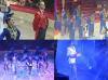 """MONSIEUR LOYAL : MICHEL PALMER - BALLET : SALTO DANCERS - """"LA REGINA DEL CIRCO"""" : REGINA BOUGLIONE"""