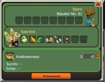 Fin des Kwakwas, et un stock de runes à écoulés !