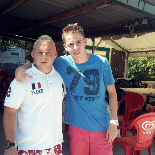 moi et le franchin en vacance :)
