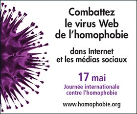 Journée international contre l'homophobie!!! 17 Mai!