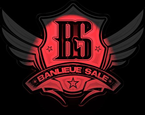 Logo de Banlieue Sale , le label crée par La Fouine