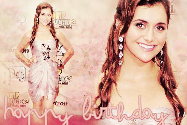 * Joyeux Anniversaire à Alyson qui fête ses 18 ans aujourd'hui, le 11 Août 2011 ! *