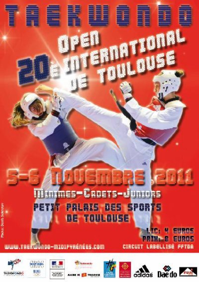 20eme open international de Toulouse