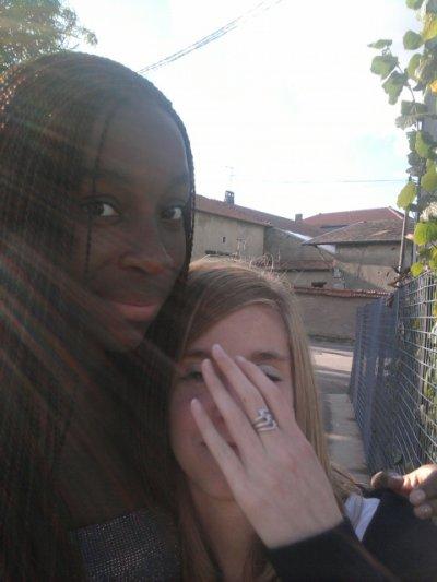 Ma sister et moi :P