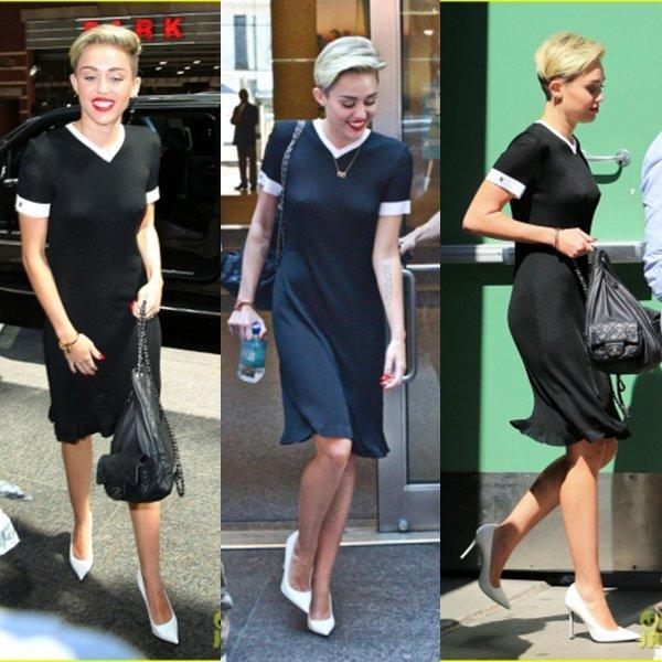 * 16.07.2013: Vanessa a été apercu a Londres elle se rendait au studio BBC !* J'adore la tenue a Vanessa c'est un gros top ! Sa coupe est aussi tres jolie par contre sa tenue quand elle est avec le magasine Glamour j'aime beaucoup moins Bof ! On sent bien que la promo commence enfin ! Pour la tenue de Miley je ne suis pas fan Bof