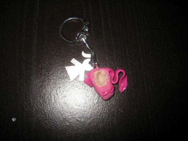 chausson de danse rose avec ruban !