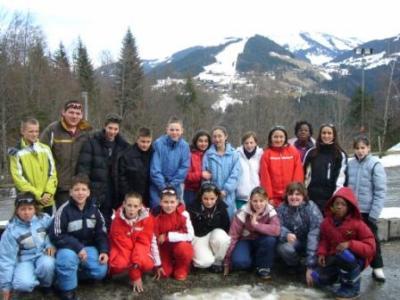 Les classes de neige - Ecole communale de Gilly Sart Allet