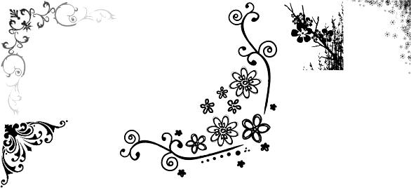 BRUSH : FLEURS (7)