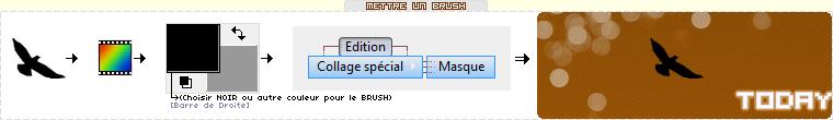 BRUSH : FLEURS (7) - A DECALQUER / UTILISER SUR PHOTOFILTRE OU AUTRE..