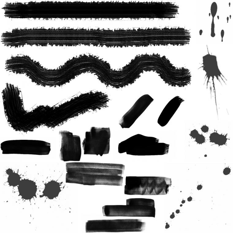 PACK BRUSH : TRACES DE PEINTURES (6 Images) PACK BRUSH : TRACES DE PEINTURES (6 Images)PACK BRUSH : TRACES DE PEINTURES (6 Images)