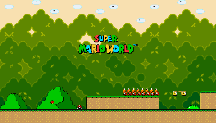 GIF SPRITE : SUPER MARIO WORLD