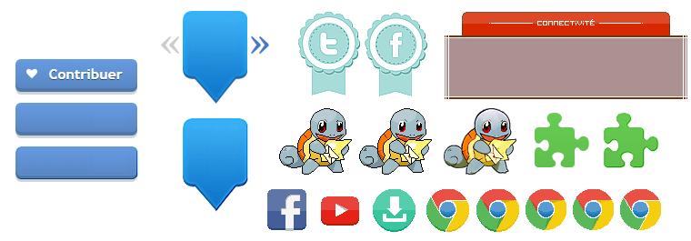 Pack Icônes Pixelisés