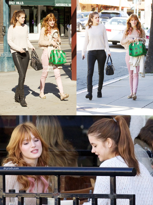 Barbara Palvin And Bella Thorne Bella et Barbar...