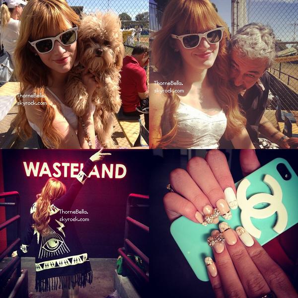 Nouvelles photos twitter de Bella du 2 mars 2012.