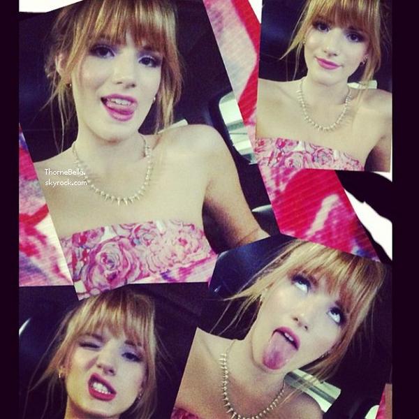 Nouvelles photos twitter de Bella du 15 mars 2013.