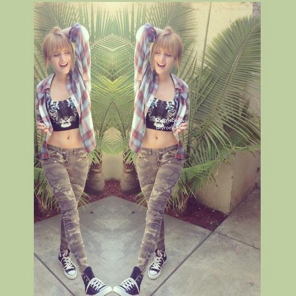 Photos twitter de Bella du 27 août 2013.