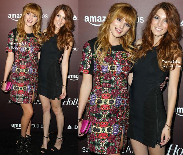 Bella et Dani au 20ème anniversaire de Hollywood Reporter le 6 novembre 2013.