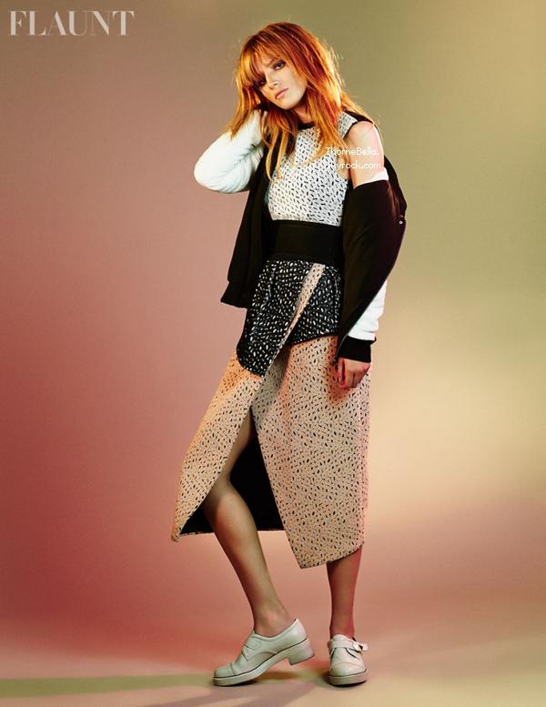 Découvrez le photoshoot de Bella pour Flaunt magazine. Vos avis ?