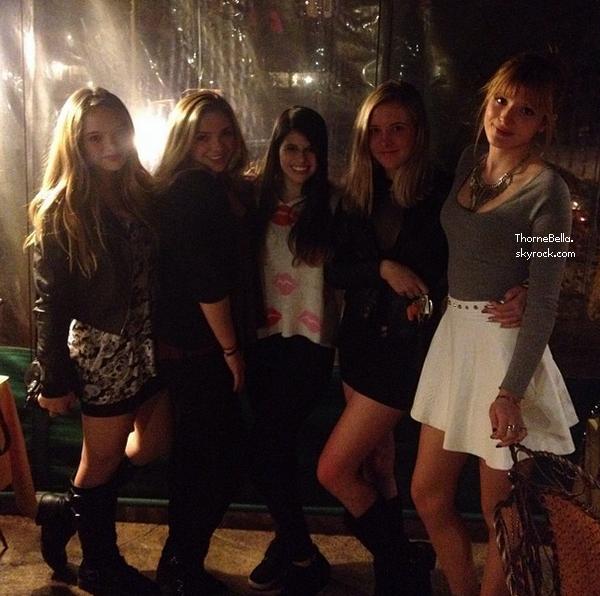 Nouvelle photo twitter de Bella du 9 novembre 2013.