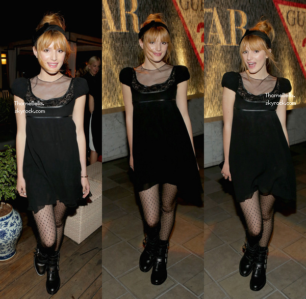Bella au dîner de Guess and Harper's Bazaar Dinner le 13 novembre 2013.