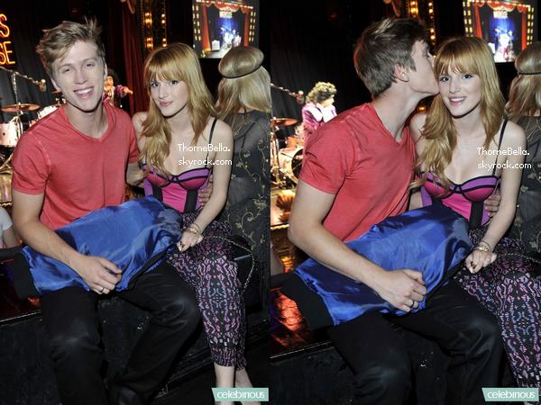 Bella et Tristan au 18ème anniversaire de Stella Hudgens le 16 novembre 2013.