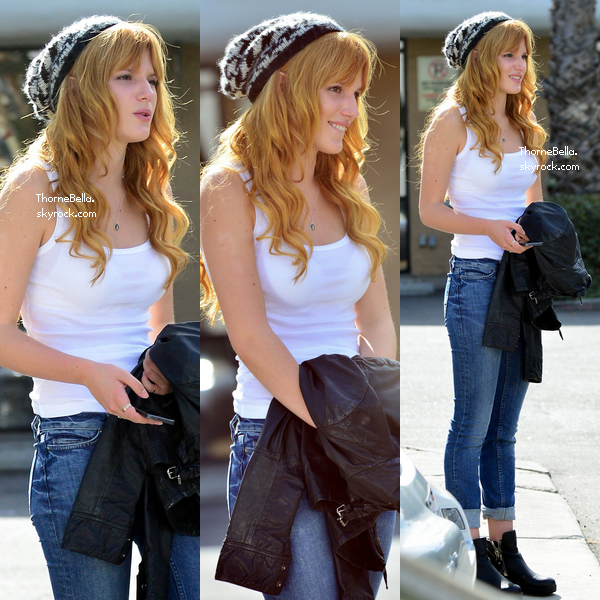 Bella à Studio City le 26 novembre 2013.