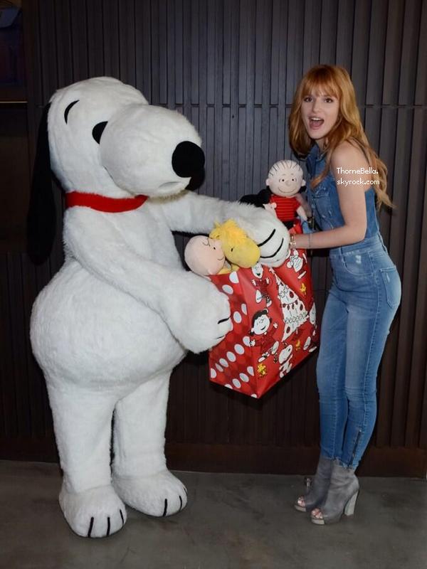 Nouvelles photos de Bella sur les réseaux sociaux le 1 décembre 2013.