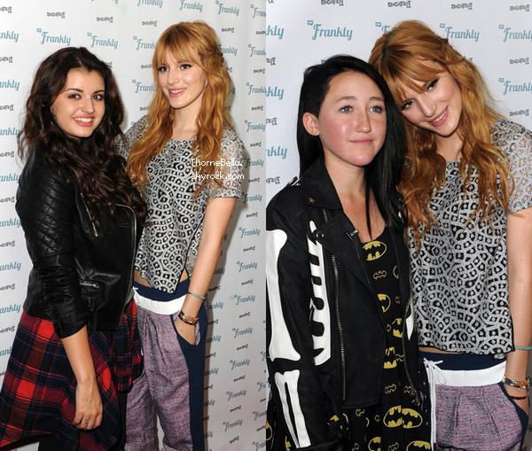 Bella à la DigiFest LA organisé par Youtube le 14 décembre 2013.