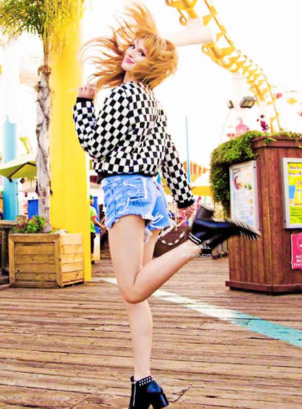 Shoot de Bella pour Seventeen Mexico.