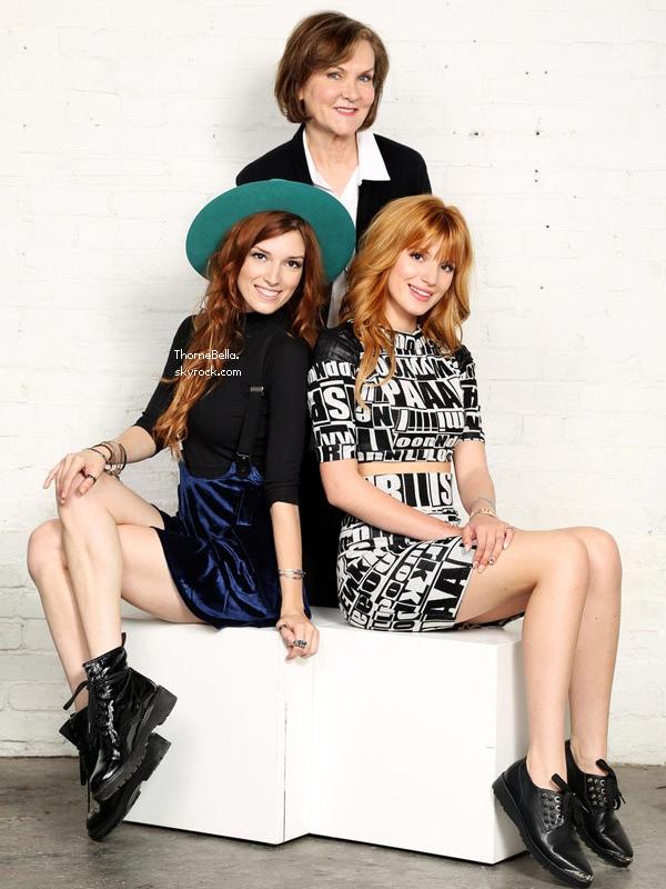 Découvrez le shooting de Bella et Dani pour annoncer leur collaboration avec Sherri Hill.