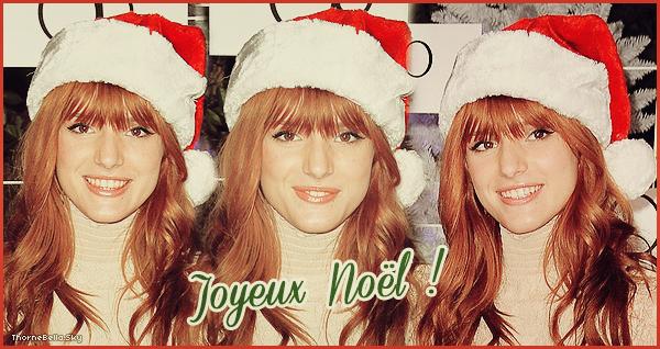 Joyeux Noël à tout le monde.