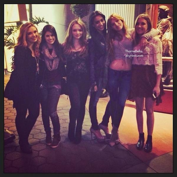 Nouvelles photos twitter de Bella du 5 janvier 2013.
