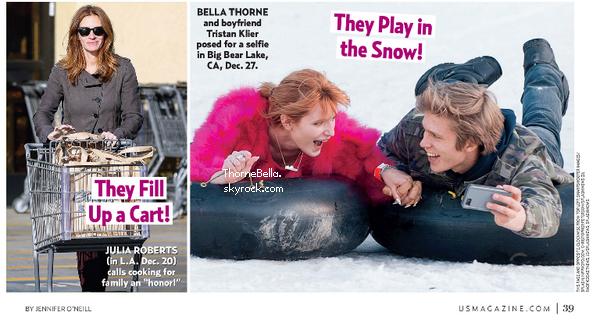 """Bella à la soirée d'ouverture de Diane von Furstenberg's """"Journey Of A Dress"""" le 10 janvier 2014."""