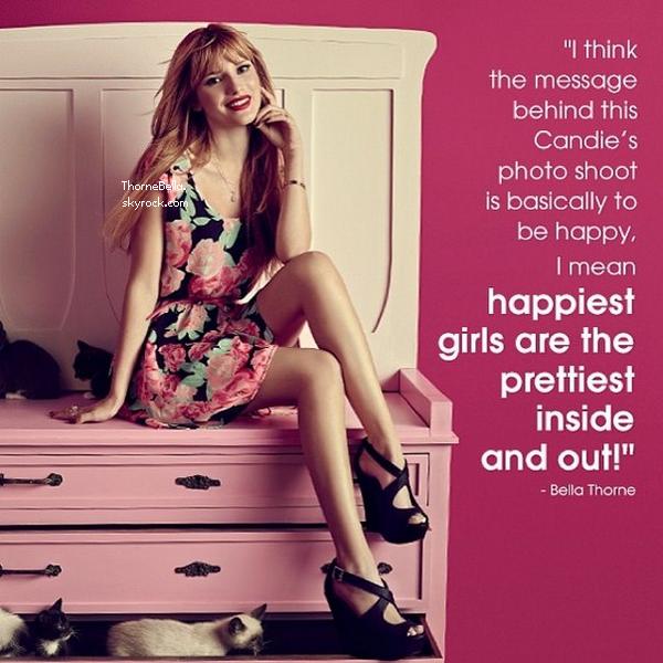 Bella en shooting pour Teen Vogue le 23 janvier 2014.