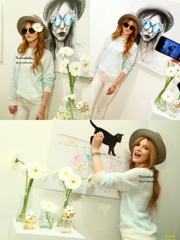 Bella visitant le magasin de Marc Jacobs le 6 février à NYC.