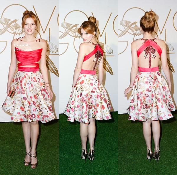 "Bella au ""Sally Morrison & LoveGold Celebrate Academy Award Nominee Lupita Nyong'o"" le 26 février 2014."