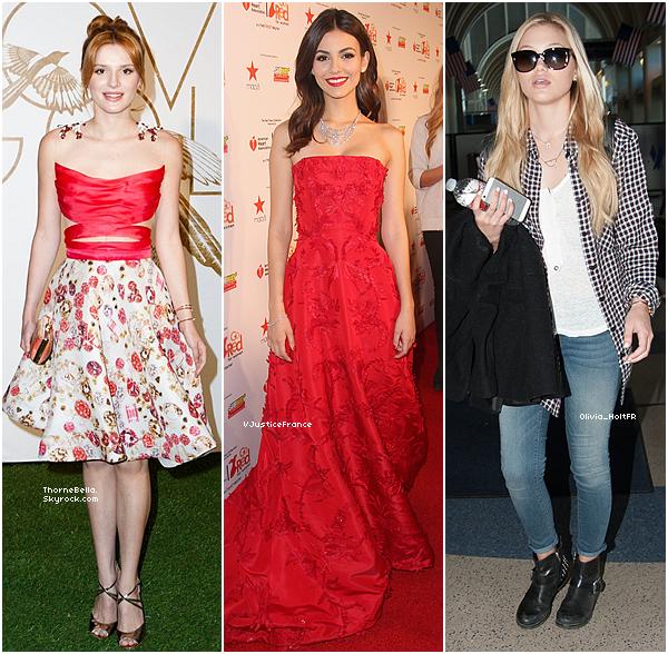 Bella à la cérémonie des Pré-Oscars le 1 mars 2014.