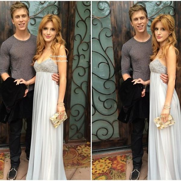 Bella et Tristan ont été au Oscar viewing le 2 mars 2014. Nous avons seulement des photos twitter pour le moment.