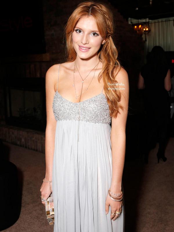 Bella était à la 15ème cérémonie des Instyle Oscar Viewing Party le 2 mars 2014.