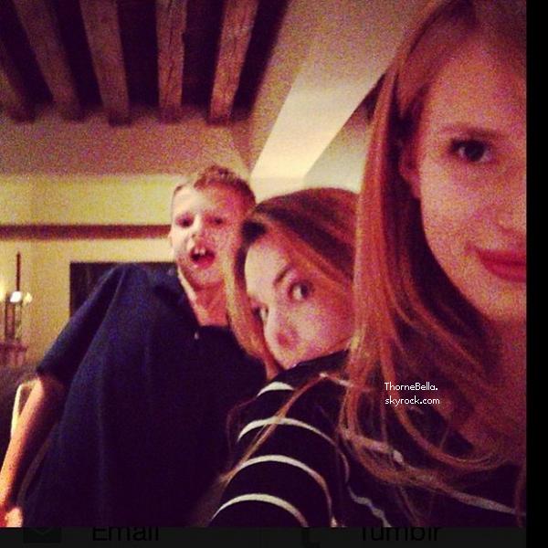Nouvelles photos twitter de Bella de ses derniers jours.